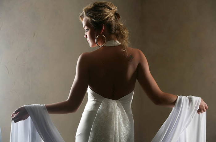 The Studio Bridal Portrait