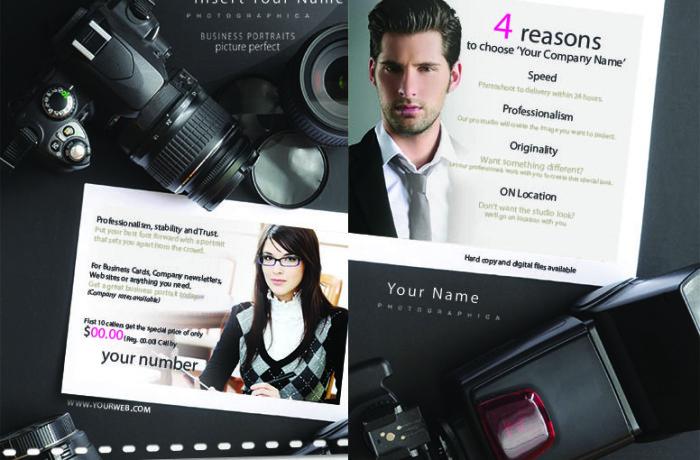 Portrait photography business plan