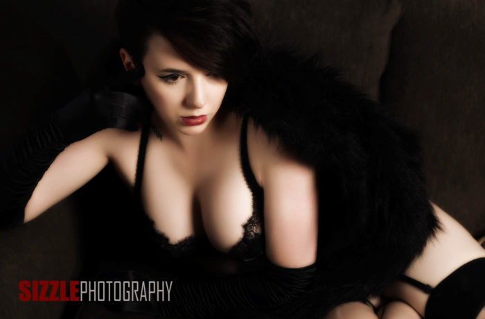 Dark and Edgy Boudoir Photography Part 2