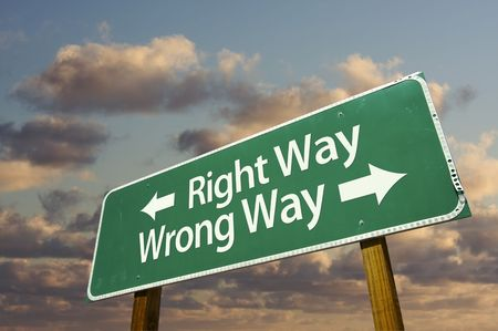 Maybe you're not doing the Wrong Thing – You're doing the Thing Wrong
