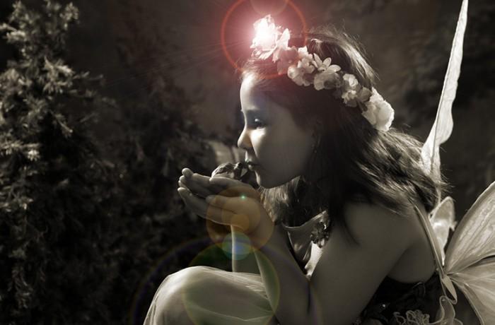 Create the Enchanted Fairy Princess Portrait