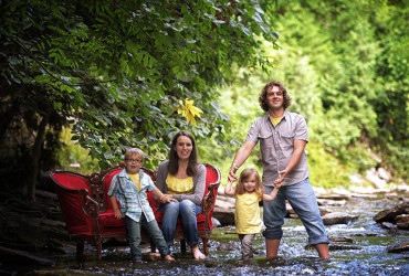 Exotic Locations for Family Portraits