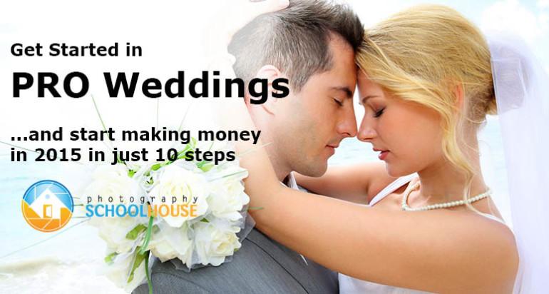 Free 10 Part Webinar School – Learn to Shoot Weddings like a Pro for 2015